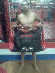 Dave with a Large Kumite Gear Bag